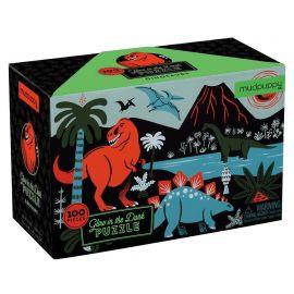 Glow in dark puzzel - Dino's