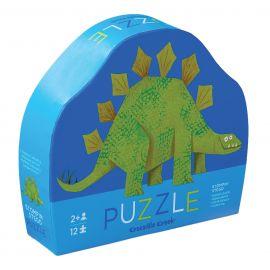 Mini puzzel - Stegosaurus - 12 st
