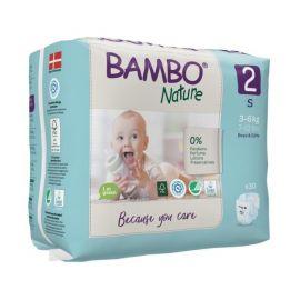 Ecologische luiers Bambo Nature Mini (3-6 kg) - 30 stuks