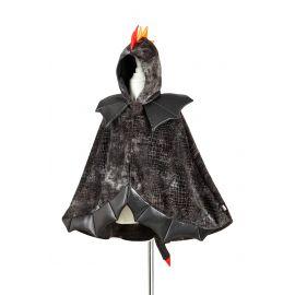 Drakencape - zwart