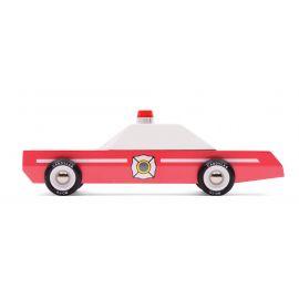 Houten speelgoedauto - Fire Chief