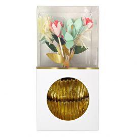 Cupcake kit - Flower bouquet