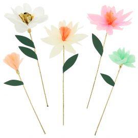 Decoratieve bloemen sticks