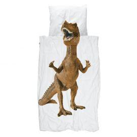 Bedset Dino Brown - 140 x 200 cm