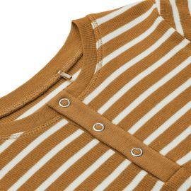 Offline tot antwoord Liewood - Wilhelm pyjama set - Y & D Stripe: Golden caramel & sandy