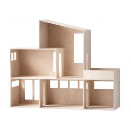 Modern poppenhuis - Funkis House