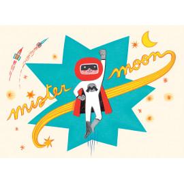 klein stoer speeldoosje 'liedje van Mister Moon'