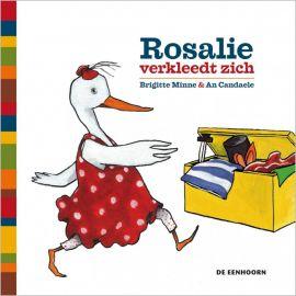 interactief kartonboekje 'Rosalie verkleedt zich'