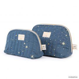 grote toilettas Holiday 'gold stella/night blue'