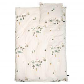 Eenpersoons bedset Tropical 140 x 200 cm