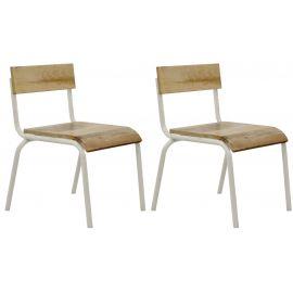 Set van 2 stoelen orginal white